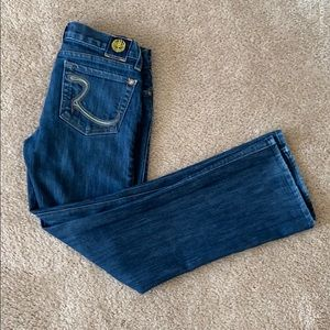 Rock and Republic Wide Leg Jeans sz 28